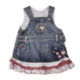 Платье младенца стоковые изображения rf