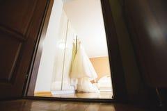 Платье на комнате Bridede Стоковое Фото