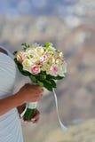 платье невесты цветет белизна Стоковые Изображения RF