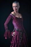 Платье ренессанса Стоковая Фотография