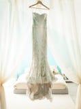 Платье свадьбы Стоковые Фотографии RF