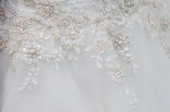 Платье свадьбы Стоковые Изображения RF