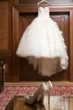 Платье свадьбы Стоковые Изображения