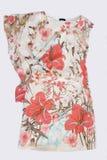 Платье сделанное по образцу пинком silk Стоковое Изображение