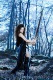 Платье фантазии сексуальное Стоковое Изображение RF