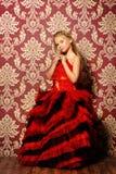 Платье шарика Стоковая Фотография
