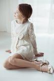 Платье шнурка стоковое изображение