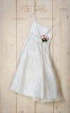 Платье Bridesmaid стоковые фотографии rf