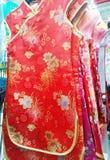 Платье Cheongsam Стоковая Фотография
