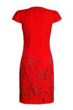 Платье ` s женщин красное Стоковое фото RF