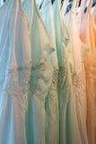 Платья в магазине Стоковое Изображение RF