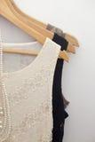 Платья в магазине Стоковое Фото