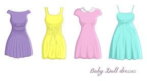 Платья куколки Стоковые Изображения RF
