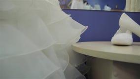 Платья свадьбы и ботинки свадьбы слайдер акции видеоматериалы