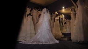 Платья свадьбы Красивое движение слайдера акции видеоматериалы