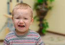 Плача младенец Стоковая Фотография RF