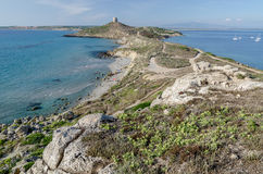 Плаща-накидк St. Marco, Сардиния Стоковые Изображения RF