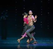 Плейбой-ретро танец мира Австрии танца- стоковое изображение rf
