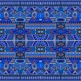 Племенная этническая безшовная картина Стоковое фото RF