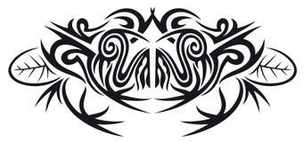 Племенная лягушка на листьях Стоковая Фотография