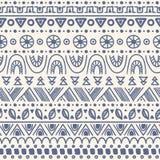 Племенная striped безшовная картина. Стоковые Изображения