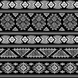 Племенное винтажное этническое безшовное Стоковые Фотографии RF