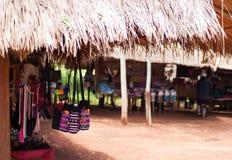Племенной рынок 2 деревни Стоковая Фотография