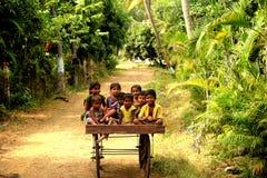 Племенные дети стоковая фотография rf