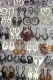 Племенные серьги Стоковые Фотографии RF