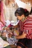 Племя холма Таиланда Стоковые Фото