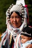 Племя холма Стоковая Фотография