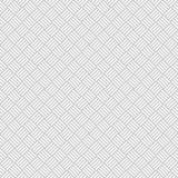 Плетеная безшовная картина в свете - сером цвете Weave корзины Стоковая Фотография