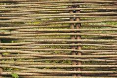Плетеная загородка Стоковая Фотография