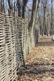 Плетеная загородка стоковая фотография rf