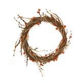 Плетеная иллюстрация венка Стоковые Фото