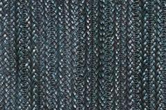 Плетеная синь текстуры Стоковые Фото
