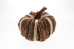 Плетеная тыква Стоковое Изображение