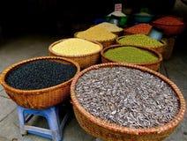 Плетеные корзины семени Стоковое Изображение