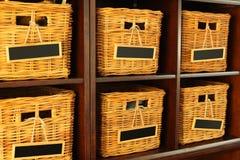 Плетеные корзины Стоковые Изображения RF