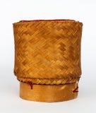 Плетеный бамбуковый липкий рис Стоковое Изображение RF