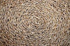 Плетеным текстура сплетенная водоворотом Стоковое фото RF