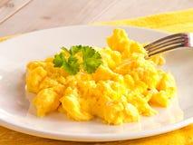 Взбитые яйца Стоковые Фотографии RF