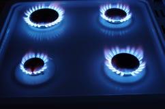 Плита газа стоковая фотография rf