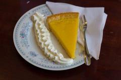 Плита десерта Стоковые Изображения