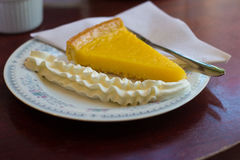 Плита десерта Стоковое фото RF
