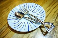 Плита десерта Стоковое Изображение