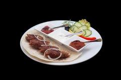 Плита еды Стоковое фото RF