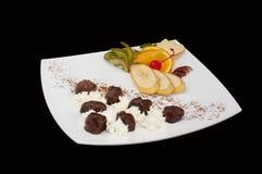Плита еды Стоковые Изображения RF