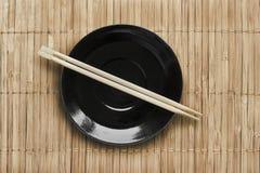 Плита и палочки Стоковая Фотография RF