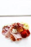 Плита мяса Стоковая Фотография